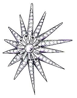 Computer Aided Sketch of Custom Earrings