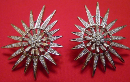 Final Product: Custom Diamond Earrings Inspired By The Maharaja of Patiala