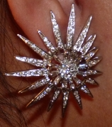 Final Product: Custom Made Diamond Earrings Inspired By The Maharaja of Patiala